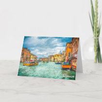 Venice, Italy Holiday Card