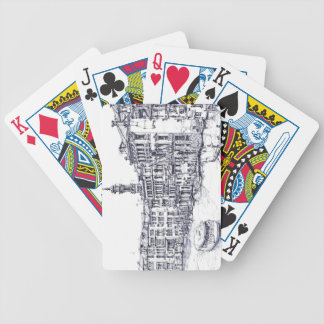 Venice, Italy, in ink Bicycle Playing Cards