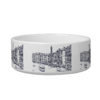 Venice, Italy, in ink Bowl