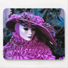 Venice, Italy (IT) - Carnival Mask Mouse Pad