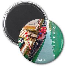 Venice, Italy (IT) - Gondola Station Magnet