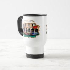 Venice, Italy (IT) - Gondolier Travel Mug