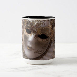 Venice, Italy (IT) - Masquerade Two-Tone Coffee Mug