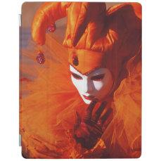 Venice, Italy (IT) - Orange Carnival Costume iPad Smart Cover