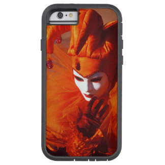 Venice, Italy (IT) - Orange Carnival Costume Tough Xtreme iPhone 6 Case