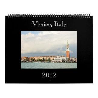 Venice, Italy Large Wall Calendar  2012  ver. II