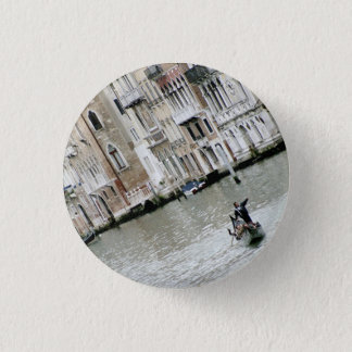 Venice, Italy: On the Grand Canal Pinback Button