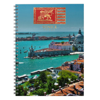 Venice, Italy - Panoramic View Notebook