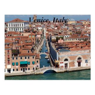 Venice, Italy, photography on a post card. Postcard