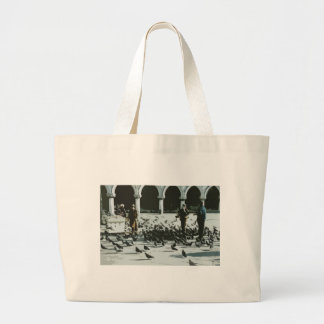 Venice Italy Piazza San Marco Large Tote Bag