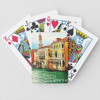 Venice - Italy Bicycle Playing Cards