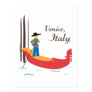 Venice Italy Postcard
