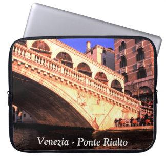 Venice, Italy - Rialto Bridge Computer Sleeve
