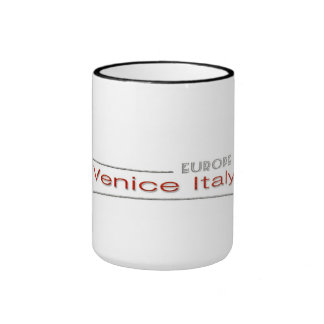Venice Italy Ringer Mug