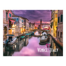 Venice, Italy Scenic Canal & Venetian Architecture Flyer