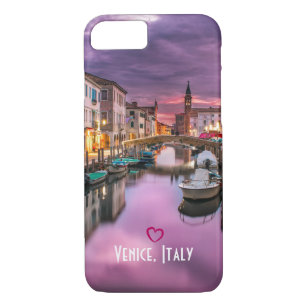 Venice, Italy Scenic Canal & Venetian Architecture iPhone 8/7 Case
