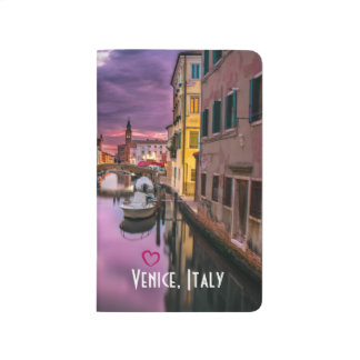 Venice, Italy Scenic Canal & Venetian Architecture Journal