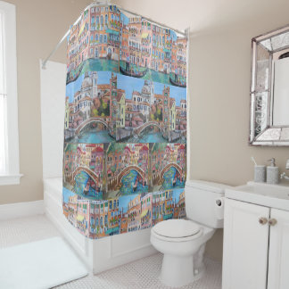 Venice, Italy - Shower Curtain