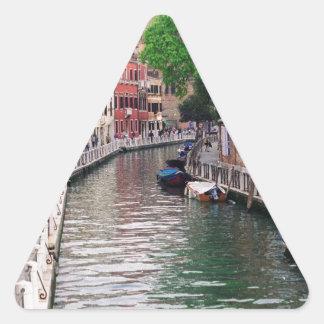 Venice, Italy Triangle Sticker