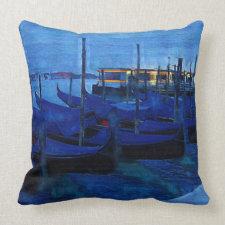 Venice Italy Throw Pillows
