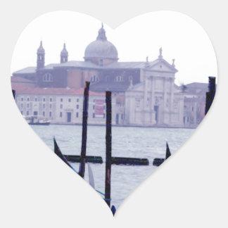 Venice Italy Travel Heart Sticker