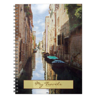Venice Italy Travel Journal Notebook
