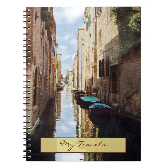 Venice Italy Travel Journal Notebook