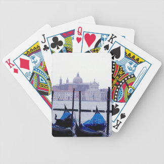 Venice Italy Travel Bicycle Playing Cards