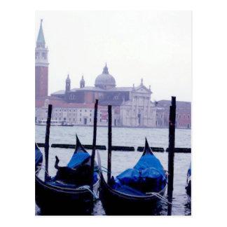 Venice Italy Travel Postcard