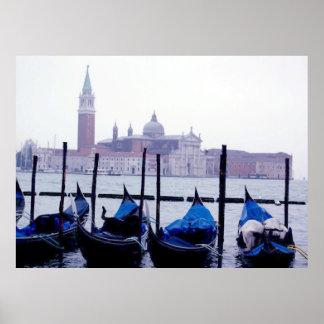 Venice Italy Travel Poster