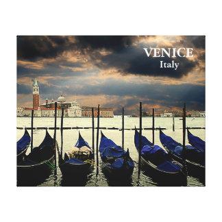 Venice Italy Travel Tourism Custom Canvas Print