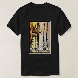 Venice Italy Vintage Retro Travel Poster T-Shirt