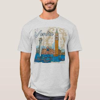 venice landmarks tshirt