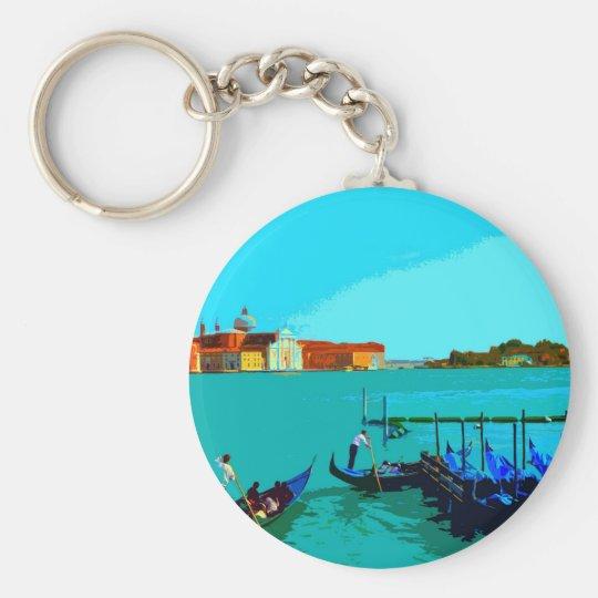 Venice Landscape poster Keychain