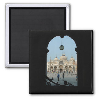 Venice 2 Inch Square Magnet