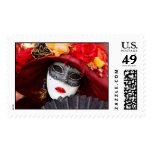 Venice mask postage