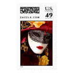 Venice mask postage stamps