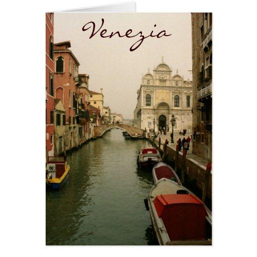 Venice Notecard