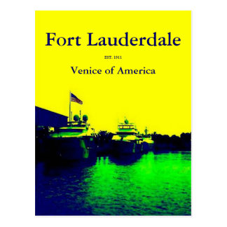 Venice of America Postcard