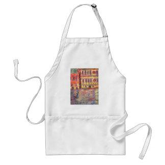 venice palazzos and colourful light apron