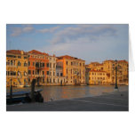 Venice - Palazzos on the Grand Canal Greeting Card