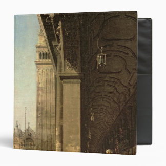 Venice: Piazza di San Marco and the Colonnade 3 Ring Binder