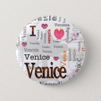 Venice Pinback Button