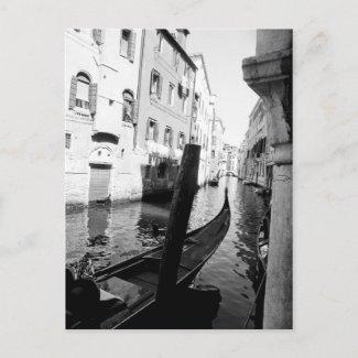Venice postcard postcard