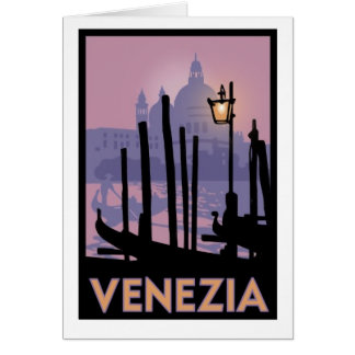 Venice Poster Greeting Card