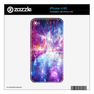 Venice Rainbow Universe Skins For iPhone 4S