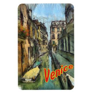 Venice Rectangular Photo Magnet