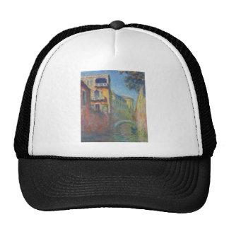 Venice, Rio de Santa Salute by Claude Monet Trucker Hat