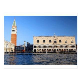 Venice: Saint Mark Bell tower and Ducal Palace Postcard