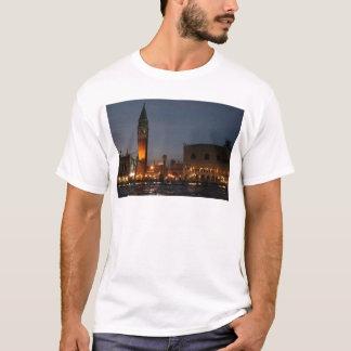 Venice - San Macro Square at Night T-Shirt